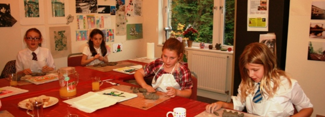 After School 'Working With Clay'